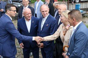Premier Mateusz Morawiecki odwiedził Miłakowo