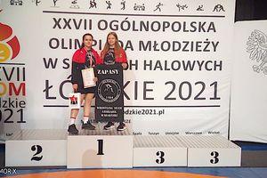 Srebro Aleksandry Bartczak i brąz Wojtka Pupkiewicza na olimpiadzie w Łodzi
