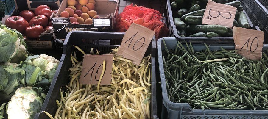 fot.1. Ceny warzyw na rynku