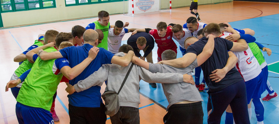 Drużyna Constractu Lubawa nowy sezon rozpocznie 12 września od meczu z MOKS Słoneczny Stok Białystok