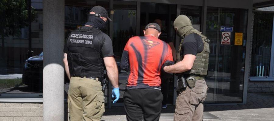 W pierwszych 6- miesiącach tego roku funkcjonariusze z Warmińsko-Mazurskiego Oddziału Straży Granicznej rozbili 7 zorganizowanych grup przestępczych
