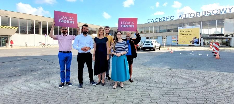 Lewica Razem chce zmobilizować władze Olsztyna i ministerstwo infrastruktury do działania w sprawie dworców w Olsztynie
