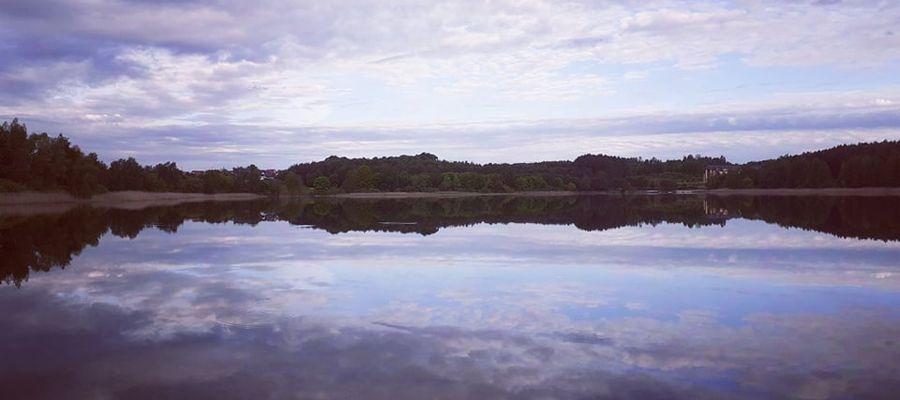 Jezioro Żbik w Olsztynie