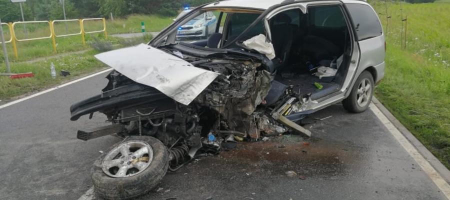 Do śmiertelnego w skutkach wypadku doszło na trasie Iława — Susz, w miejscowości Grabowiec