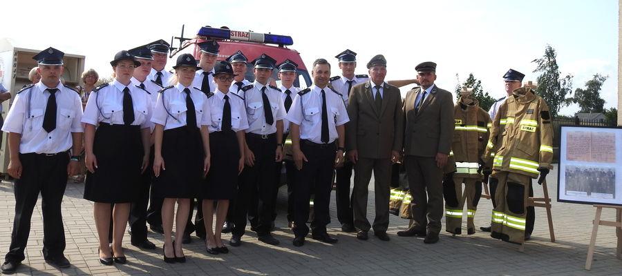 Strażacy z Lekart i ich goście