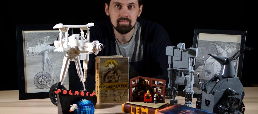 Twórczość Stanisława Lema została przełożona na ponad 40 języków. Dzięki Piotrowi Przytule, literaturoznawcy z UWM, dołączył do nich uniwersalny język... klocków Lego