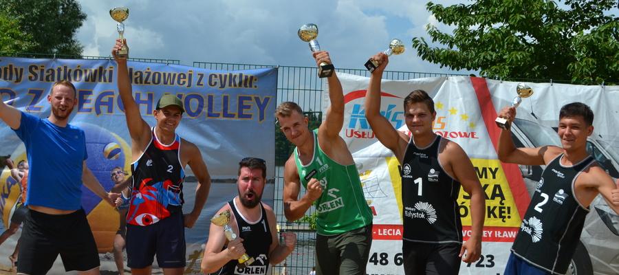 Najlepsze drużyny męskie pierwszego turnieju Lato z Beach Volley 2021