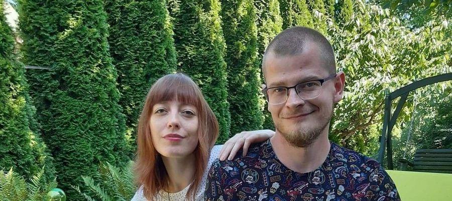 Michalina Janyszek z mężem Piotrem Binkowskim
