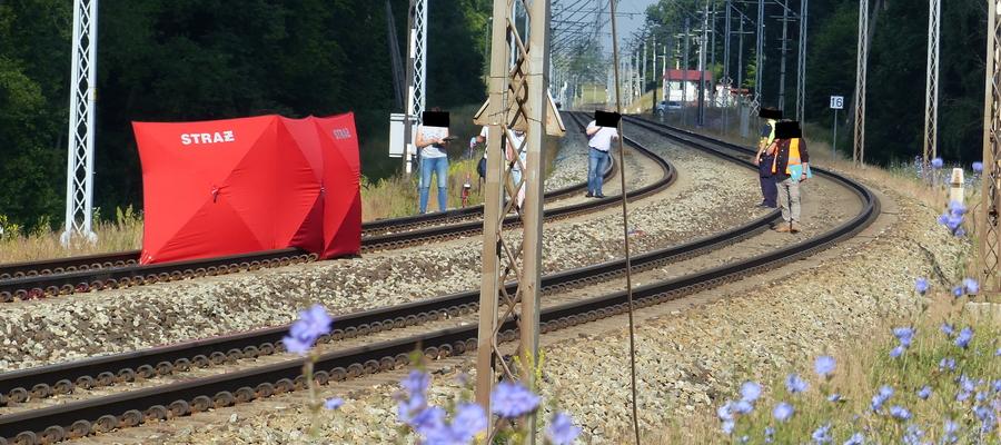 Do wypadku doszło tuż przed wjazdem na dworzec kolejowy Iława Miasto