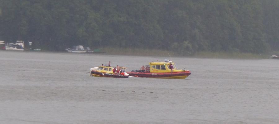 Dzisiejsza akcja ratunkowa na Jezioraku