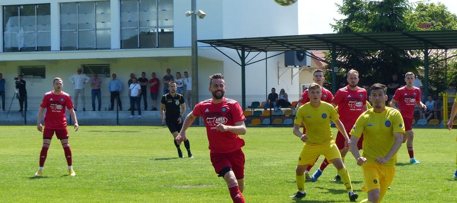 Zdjęcie z meczu GKS Wikielec — RKS Radomsko