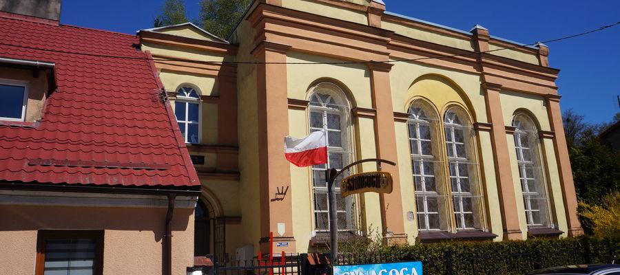 dawna synagoga w Barczewie