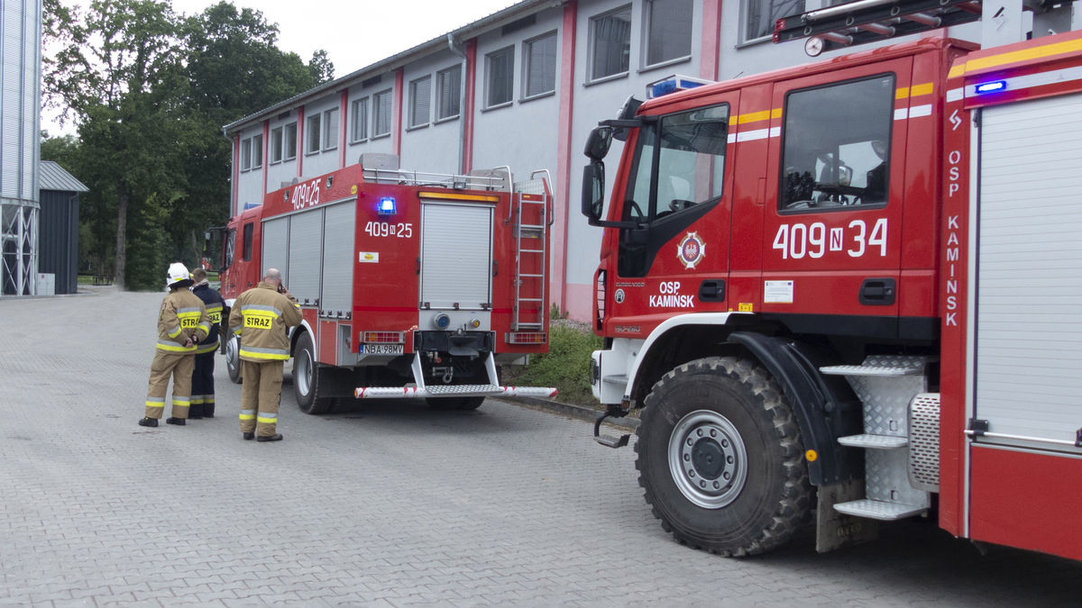 Na miejsce wezwano zastępy OSP z Kamińska, Górowa Iławeckiego, Wojciech oraz PSP z Bartoszyc