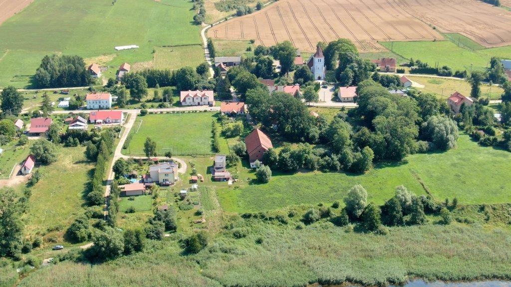 Panorama wsi Węgielsztyn