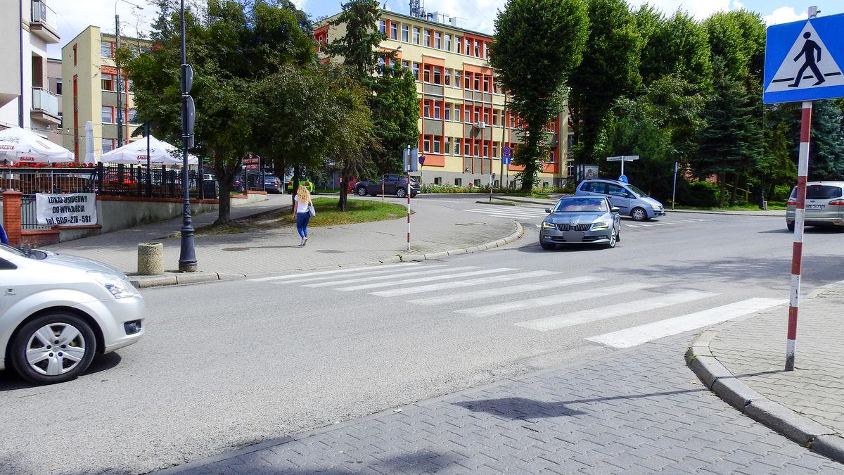 Ruch na ul. Kętrzyńskiej jest znaczny
