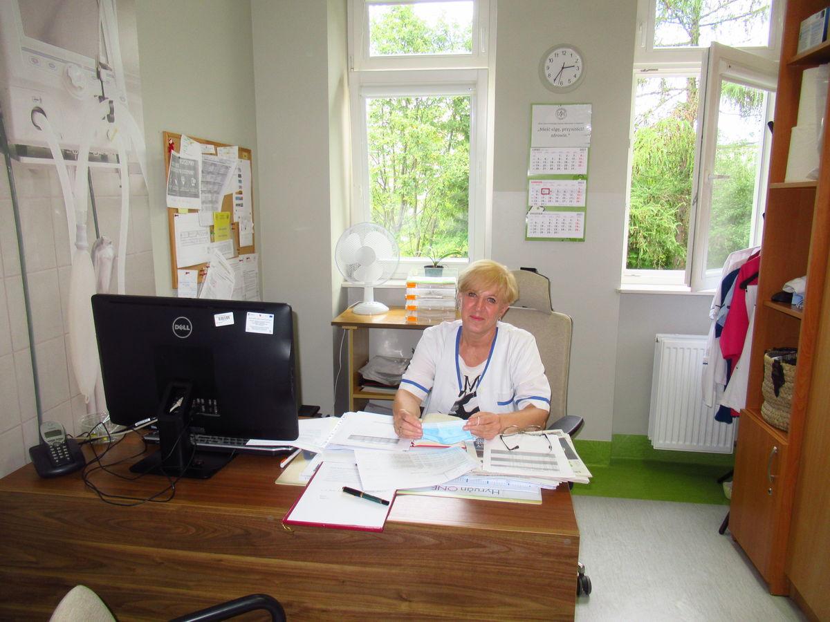 Łucja Romanowska, koordynatorka Przychodni przy Uniwersyteckim Szpitalu Klinicznym w Olsztynie
