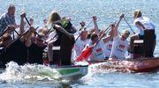 Wyścig smoczych łodzi w Elblągu