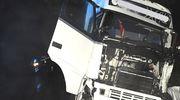 W wypadku zginął kierowca tira