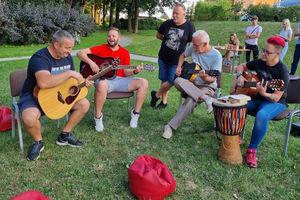 W Małpim Gaju w Bisztynku królowała radość i muzyka