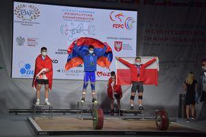 Hubert Pietrzak medalistą Mistrzostw Europy Juniorów U-17