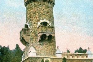"""Wieża """"żelaznego"""" kanclerza w Ostródzie"""