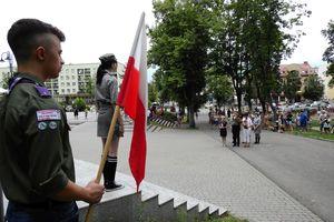 Olecczanie oddali hołd powstańcom warszawskim