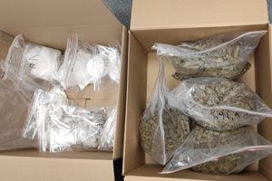 Policja i Straż Graniczna z Warmii i Mazur zabezpieczyli narkotyki warte prawie 400 tys. złotych