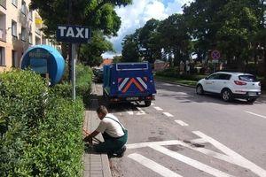 Trzy postoje taxi w centrum Olecka zostały zlikwidowane