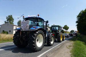 Przyjeżdżamy traktorami, wołamy o pomoc! Jutro rolnicza blokada DK15