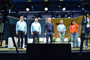 Piotr Grzymowicz wziął udział w debacie prezydentów miast na Campusie Polska Przyszłości w Olsztynie