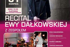 Recital Ewy Dałkowskiej w Dywitach