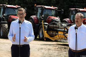 Kulisy wystąpienia premiera w Brzydowie. Rolnicy: To była ustawka [VIDEO]