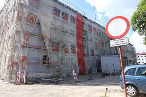 FOTOMIGAWKA: Dlaczego remontują Komendę Wojewódzką Policji w Olsztynie?
