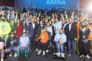 Campus Polska Przyszłości w olsztyńskim Kortowie otworzyła debata Donalda Tuska z Rafałem Trzaskowskim [ZDJĘCIA]