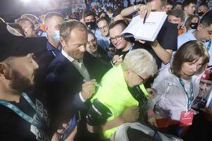 Donald Tusk szefem PO