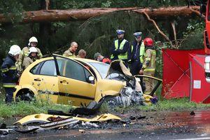 Śmiertelny wypadek pod Olsztynem. Wyznaczono objazd