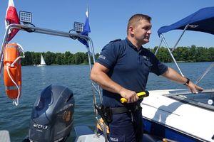 Nietrzeźwi żeglarze na mazurskich jeziorach