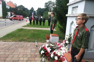 Kapliczka pamięci powstańców stoi tu od 1946 roku