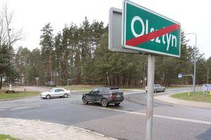 Wkrótce zrobi się nerwowo przy wjeździe do Olsztyna