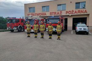 Strażacy pamiętali o bohaterach Powstania Warszawskiego