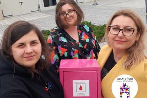 Różowa Skrzyneczka w Miejskim Ośrodku Kultury w Olsztynie