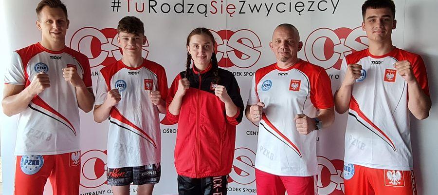 Kickbokserzy na zgrupowaniu kadry narodowej w Zakopanem