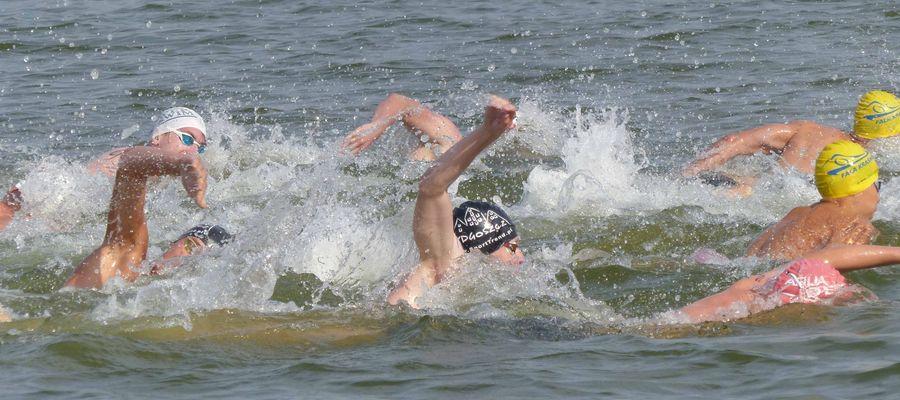 Najlepsi w Polsce pływacy długodystansowi walczyli w Olecku