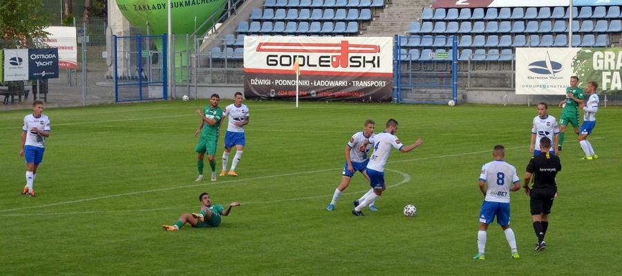 Z meczu na mecz sytuacja drugoligowego ostródzkiego Sokoła robi się coraz trudniejsza