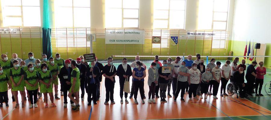 Wspólne zdjęcia przed rozpoczęciem turnieju