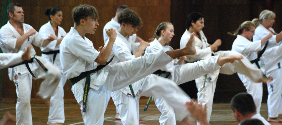 Obóz szkoleniowy to również egzaminy na kolejne stopnie