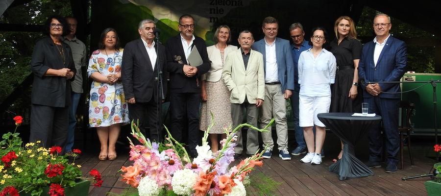 Gala przyznania Nagrody im. Konstantego Ildefonsa Gałczyńskiego ORFEUSZ za najlepszy tom poetycki 2020 r. odbyła się w sobotę, 31 lipca, w Leśniczówce Pranie