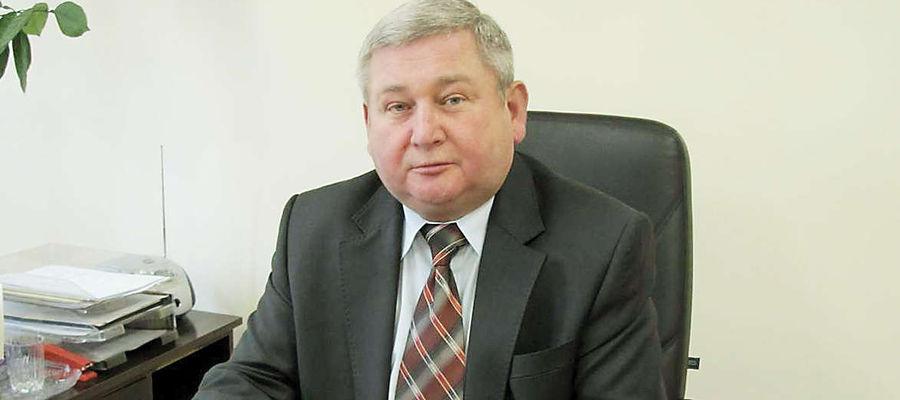 Jan Harhaj, starosta Powiatu Lidzbarskiego