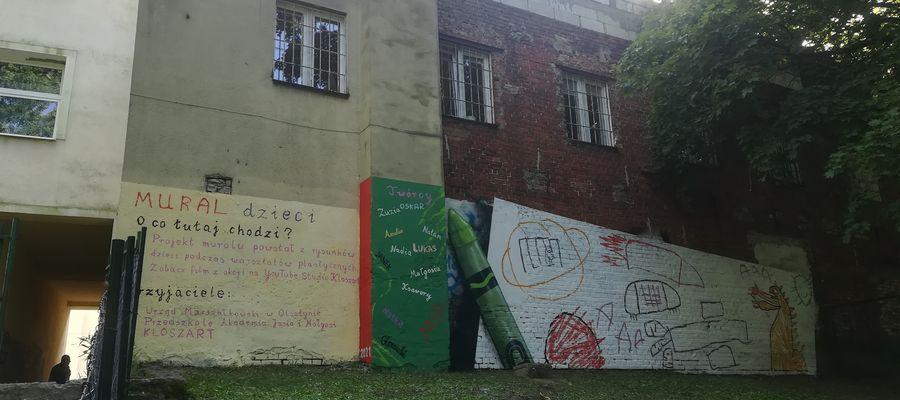 Mural Dzieci w Olsztynie