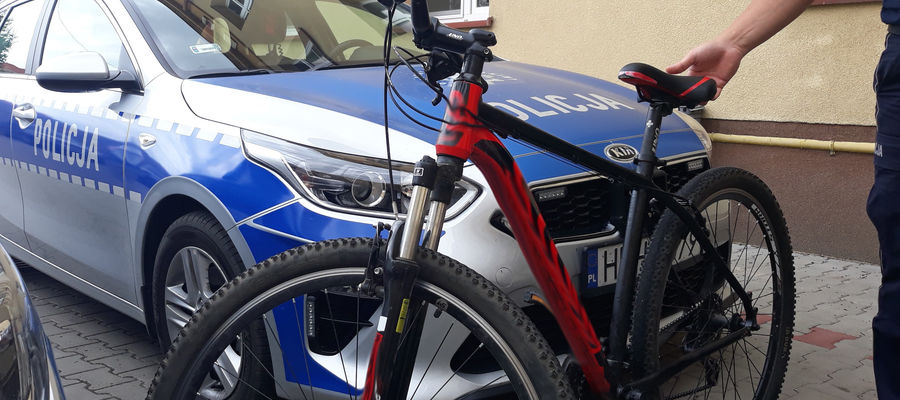 Odzyskany rower